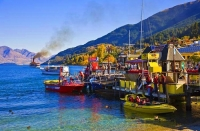 Queenstown;Lake_Wakatipu;Otago;autumn_colour;fall_colors;Jet_Boat;jetty;SS_Earns