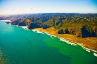 Aerial;Auckland_West_Coast_Beaches;Karekare;fishing;angling;boating;speed_boatin