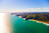 Aerial;Auckland_West_Coast_Beaches;Piha_beach;Bethells_beach;Anawhata_beach;fish