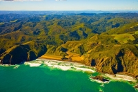 Aerial;Auckland_West_Coast_Beaches;Anawhata;Anawhata_beach;fishing;angling;boati