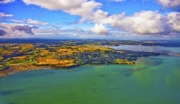Aerial;Hauraki_Gulf;Kawakawa_Bay;bush;native_forrest;beaches;mud_flats;paddocks;