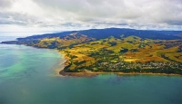 Aerial;Hauraki_Gulf;Orere_Point;bush;native_forrest;beaches;mud_flats;paddocks;g