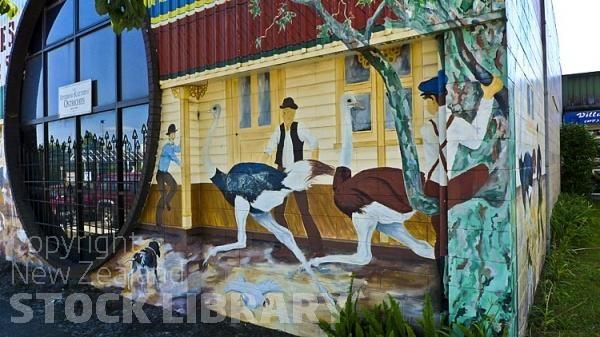 Katikati;murals