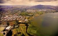 Aerial;Rotorua;Bay_of_Plenty;Waikato;Lake_Rotorua;Waikato_river;jet_boating;tour