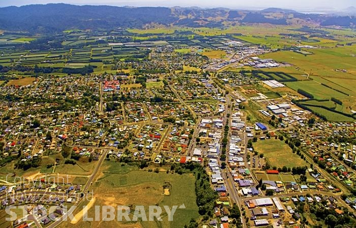 Aerial;Te Puke;Bay of plenty;kiwi fruit orchards;kiwi fruit;kiwi fruit growing;agriculture;agricultural centre;arable farmingMarae