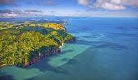 Aerial;Waihi_Beach;Orokawa;Orokawa_Scenic_Reserve;Bay_of_plenty;kiwi_fruit_orcha