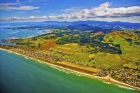 Aerial;Waihi_Beach;Bay_of_plenty;kiwi_fruit_orchards;kiwi_fruit;kiwi_fruit_growi