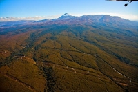 Aerial;Tongariro_National_Park;Mt_Ngauruhoe;South_Waikato;Hydro_generated_electr