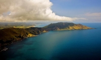 Aerial;Cape_Runnaway;Opotike_to_East_Cape;Opotike_to_East_Cape;blue_sea;blue_sky