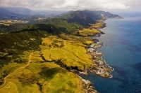 Aerial;Coast_at_Potaka;Opotike;East_Cape;Opotike_to_East_Cape;blue_sea;blue_sky;