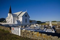 Raukokore;church;Anglican_Church_cemetery;cemetery;bluffs;cliffs;rocky_shoreline