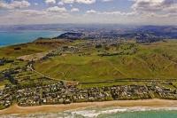 Aerial;Gisborne;Wainui;Turanganui_River;industrial_buildings;suburburban;Hospita