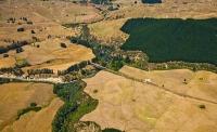 Aerial;Hawkes_Bay_Coast;bush;native_forrest;golden_sands;bluffs;River;cliffs;san