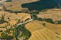 Aerial;Hawkes_Bay_Coast;bush;native_forrest;golden_sands;bluffs;River;cliffs;blu
