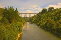 Hawkes_Bay;state_highway_2;bush;native_forrest;golden_sands;bluffs;River;cliffs;