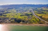 Aerial;Otaki;Otaki_Beach;Kapiti_Coast;sandy_beaches;golden_sand;horticulture;agr