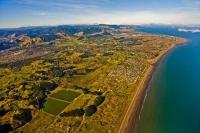 Aerial;Waikanae;Waikanae_Beach;Paraparaumu;Kapiti_Coast;Kapiti_Island;Cook_Strai