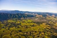 Aerial;Waikanae;Kapiti_Coast;Kapiti_Island;Cook_Strait;native_forest;Blue_sky;bl