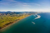 Aerial;Peka_Peka;Kapiti_Coast;sandy_beaches;golden_sand;horticulture;agriculture