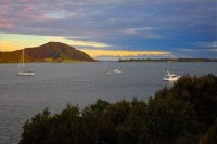 Awanui;Northland;Houhora_Harbour;boats;moored_boats