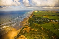 Aerial;Dargaville;Baylys_Beach;Northland;kaipara;Wairoa_River;airfield;bridge;sa