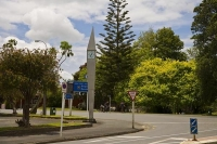 Kaitaia;Northland;clock_tower;District_Council_planting