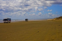 Ninety_Mile_Beach;Northland;cumulus_cloud;golden_sands;sandy_beaches;sand_dunes;