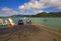 Whangaroa_Harbour;Northland;bachs;holiday_homes;bush;native_forrest;blue_sky;blu