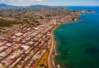 Aerial;New_Plymouth;Taranaki;Mount_Taranaki;Clear_water;Down_Town