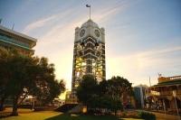 New_Plymouth;Taranaki;Down_Town;Clock_Tower;national_flag