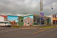 Opunake;Taranaki;churches;school;cafes;murals;sculptures;post_office;shops;Mural