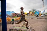 Opunake;Taranaki;churches;school;cafes;murals;sculptures;post_office;shops;Peter