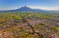 Aerial;Stratford;Taranaki;Mount_Taranaki;Mount_Egmont;dairy;dairy_farming;milk_p