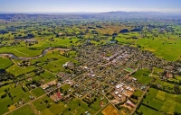 Aerial;Pahiatua;Tararua;cafes;sculptures;post_office;shops;church;green_fields;p