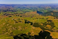 Aerial;Woodville;Tararua;green_fields;green_paddocks;Wind_farm;wind_farms;Wind_g