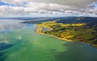 Aerial;Firth_of_Thames;Wharekawa;Waharau;Waharau_Regtional_Park;Hunua_Ranges;wal