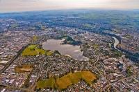 aerial;Hamilton;Waikato_River;industrial_buildings;suburburban;Lake_Rotoroa;Hami