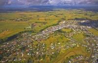 Aerial;Paeroa;Waikato;Antiques;agricultural_centre;dairy_farming;Hauraki_Plains;