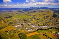 Aerial;Paeroa;Waikato;Antiques;agricultural_centre;dairy_farming;lemon_and_Paero