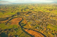 Aerial;Pirongia;Waikato;agricultural;Dairy;Dairy_industry;agriculture;sheep;Waip