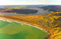Aerial;Port_Waikato;Waikato_River;River_mouth_Waikatofishing;angling;boating;spe