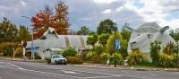 Aerial;Tirau;Waikato;green_fields;New_Zealand;agricultural;Tirau_corrugated_scul