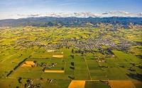 Aerial;Carterton;Wairarapa;native_forest;sheep;sheep_shearing;Tararua_Ranges;agr