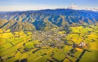 Aerial;Featherston;Wairarapa;native_forest;sheep;sheep_shearing;Tararua_Ranges;a