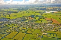 Aerial;Greytown;Wairarapa;Antiques;gliding;gliding_club;native_forest;sheep;shee