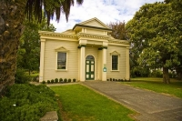 Greytown;Wairarapa;Library;Antiques;Neo_Classical_building;native_forest;sheep;s