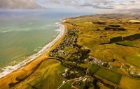 Aerial;Riversdale_Beach;Wairarapa;bachs;holiday_homes;beach;beach_front;boating;