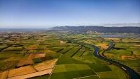 Aerial_Image;Wairarapa_Landscape_Image;Wairarapa;Ruamahanga_River;lake_Wairarapa