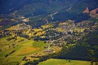 Aerial;green_fields;paddocks;brown_hills;hills;mountains;blue_sky;Hanmer_Range;A