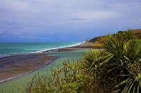 Coast_at_Hurunui_River_mouth;Hurunui;Alpine_Pacific_Triangle;Hurunui_River_mouth
